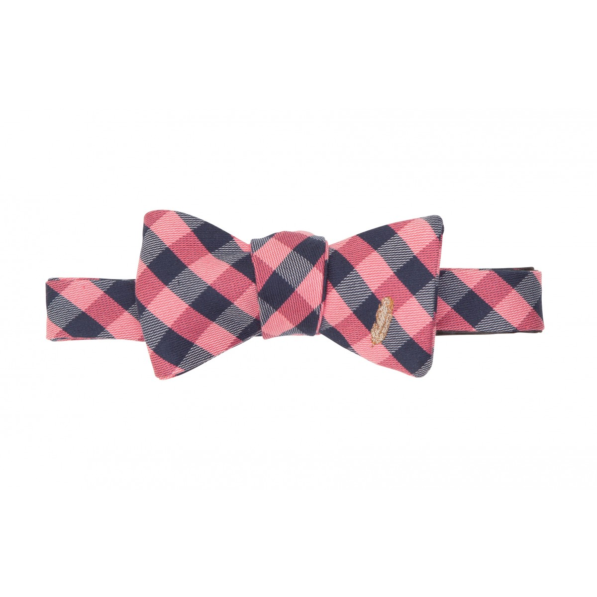 Feather Check Bow: Red